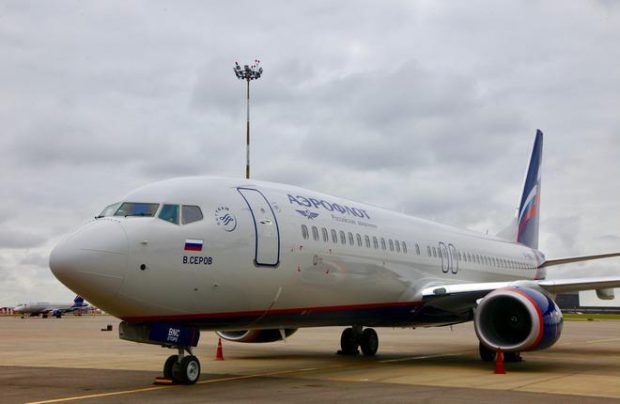Aeroflot received its previous two of the type in August