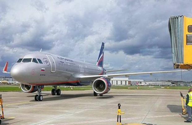 Aeroflot receives another Airbus narowbody