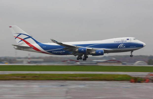 CarrgoLogicAir operates three Boeing 747 freighters