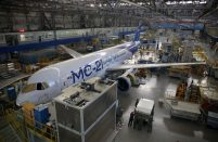 The MC-21 is on schedule for certicication in 2019