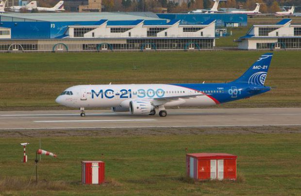 The MC-21 will be kept in a dedicated hangar at Zhukovsky