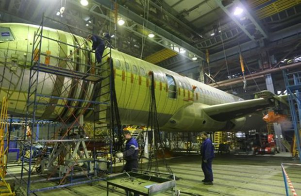 The MC-21's tailplane torsion box is produced by ORPE Technologiya