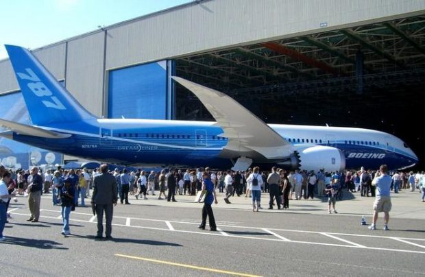 Boeing will not charge the lessor for its failure to sell 22 Boeing 787 widebodies