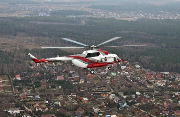 Russian Helicopters is selling the aircraft to India