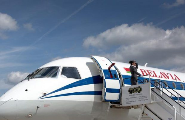 Belavia already operates four E-Jet airliners