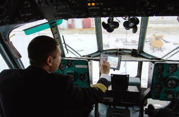 UTair - Helicopter Services uses EFBs on domestic flights