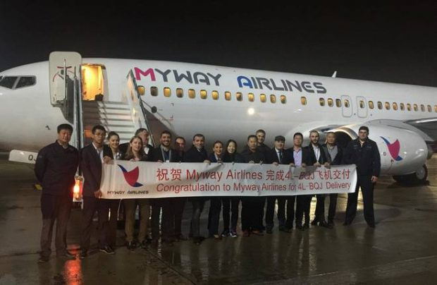 Georgia's Myway Airlines resumes certification process