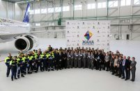 Air Astana originally planned to open the facility in 2015