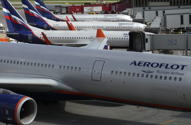 Aeroflot Group also includes Rossiya Airlines, Pobeda Airlines, and Aurora Airlines