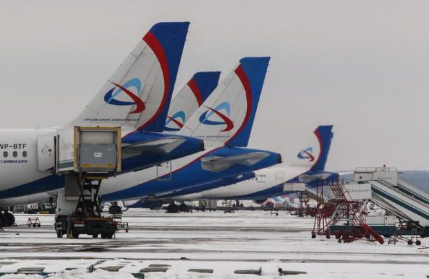 Ural Airlines operates A320s, A321s, and A319s