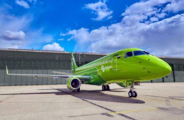 S7 Airlines currently operates 13 E170s