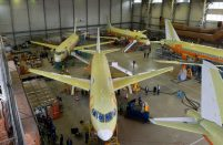 The total SSJ100 fleet in operation exceeds 100 units