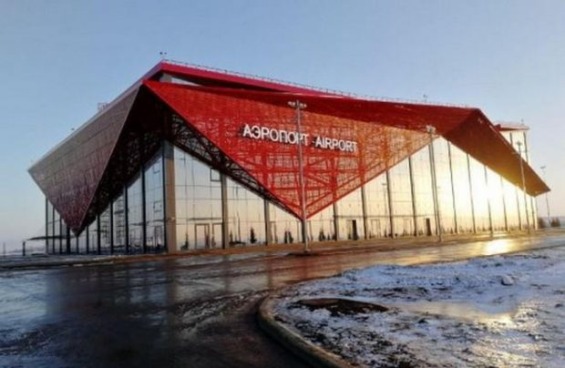 Saransk was renovated in the run-up to this summer's FIFA World Cup