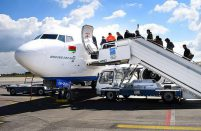 Belavia is Belaris's national carrier