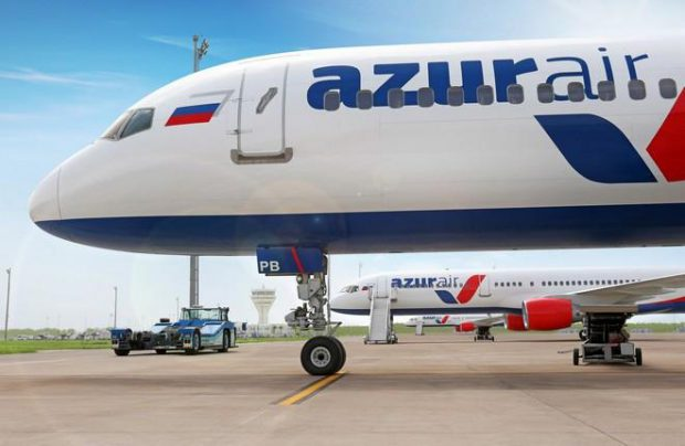 Azur Air is Russia's largest charter carrier