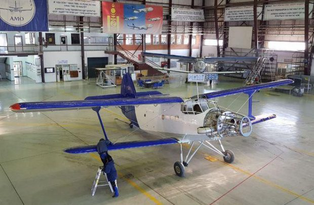 The first Mongolian TVS-2MS to fly in April