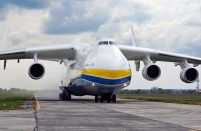 The An-225 is a unique aircraft