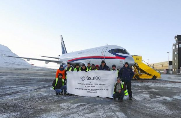 The SSJ100 is Russia's new regional jetliner