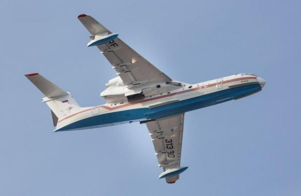 Beriev builds amphibian aircraft