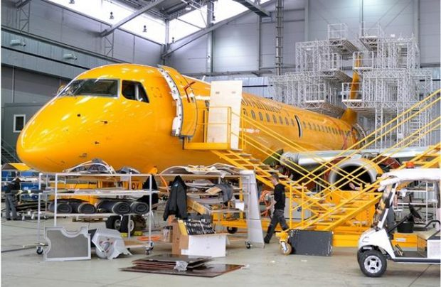 Saratov Airlines also operates Antonov An-148s