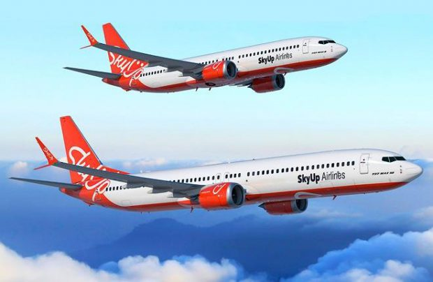SkyUp has an option for five more 737 MAX airliners