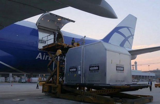 Russia's AirBridgeCargo introduces scheduled service at the US airport