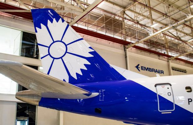 Belarus' Belavia takes delivery of first direct-purchased Embraer E175