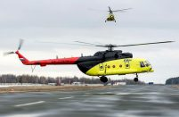 Russian Helicopters delivered two final Mil Mi-8AMTs to UTair