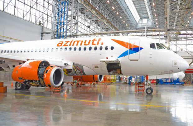 S7 Technics completes first C-check on Azimuth' SSJ100