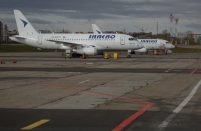 UTair wet-leases Superjet 100