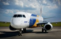 Russia's Pegas Fly takes delivery of its maiden Embraer E-190