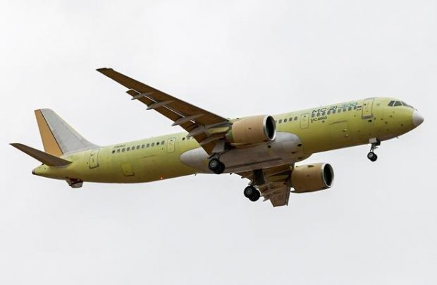 Second prototype of Russia's new MC-21-300 airliner had made its first flight