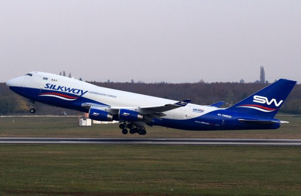 Silk Way West, Azerbaijani all-cargo carrier, has added a B747-400F