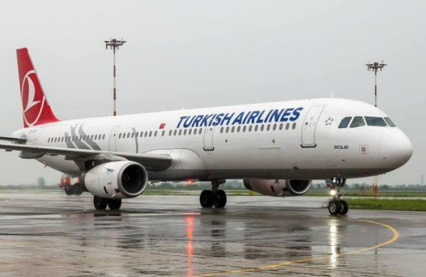 Turkish Airlines A321 aircraft