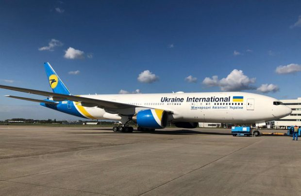 Ukraine International adds another B777-200ER