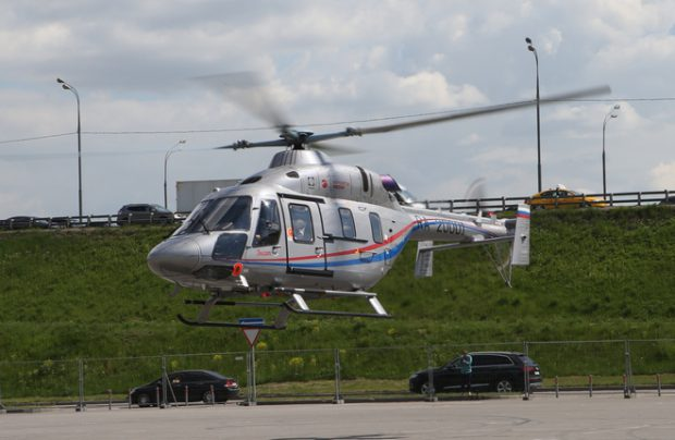 Ansat Russian helicopter