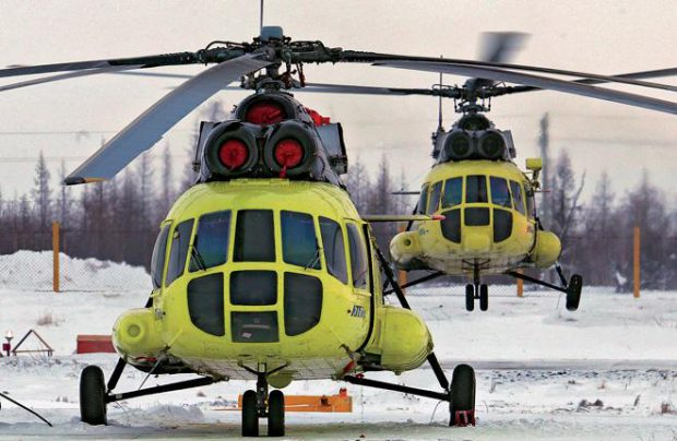 Russian Mil helicopters