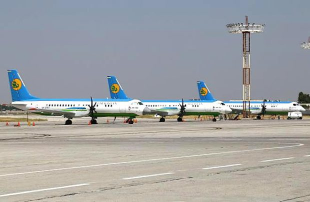 Uzbekistan Airways officially phased out the last of its Ilyushin IL-114-100 regional turboprops