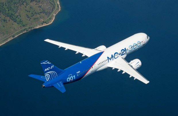 MC-21 Russian airliners