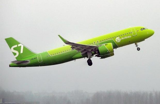Russia's S7 Airlines Airbus A320neo