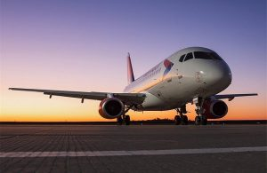 Superjet 100 corporate charter airline
