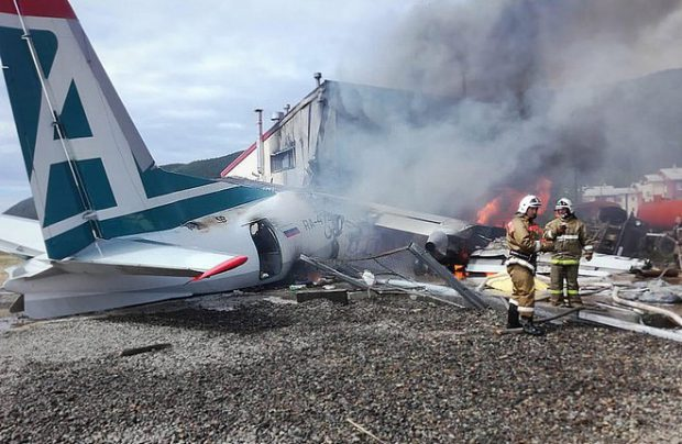 Angara Airlines Antonov crash
