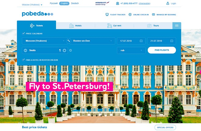 Russian LCC Pobeda to drive up direct bookings via its