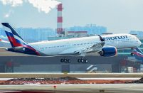 Aeroflot first A350-900