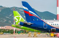 Russian airlines april traffic