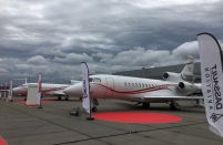 The French OEM is showcasing Falcon 7X and 900LX at the ongoing JetExpo 2016 in Vnukovo