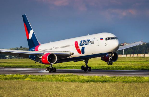 Boeing 767 VP-BUX became the oldest aircraft in Azur Air's fleet
