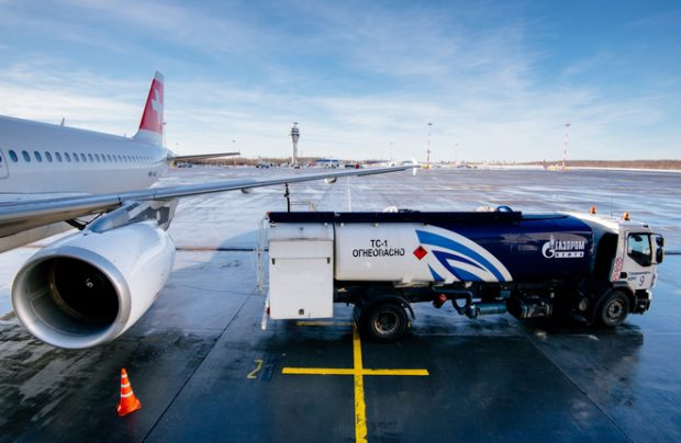 Gazpromneft-Aero works in 170 airports in 61 countries