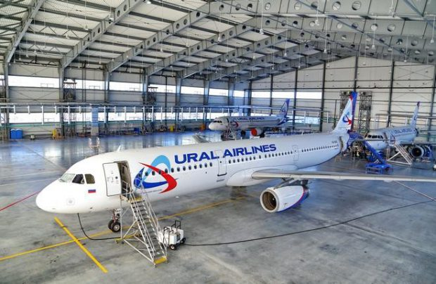 Ural Airlines take delivery of another Airbus A321
