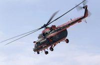 The helicopter is capable of operating at -60°C